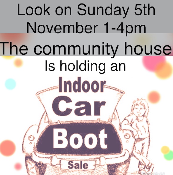 Indoor Car Boot Sale at Seabrooke Community House