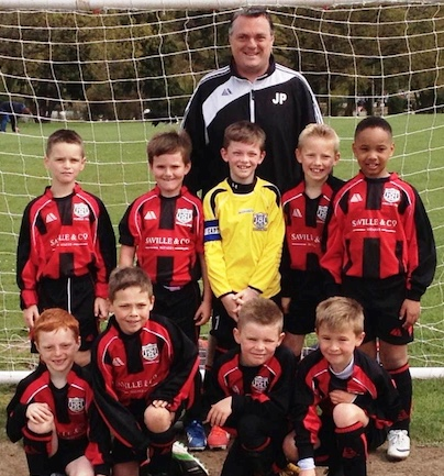 "Football: South Ockendon's Jason says ""Just let them play"""