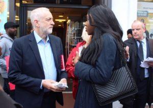 Jeremy Corbyn in Grays