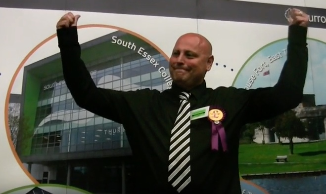 """Investigation reveals Thurrock UKIP councillor punched in face by police during arrest for """"being violent against members of his family"""""""