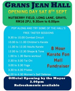 Karate Open Day