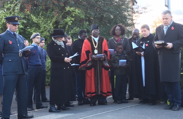 Thurrock pays its respects as Remembrance Services pay tribute to those who served
