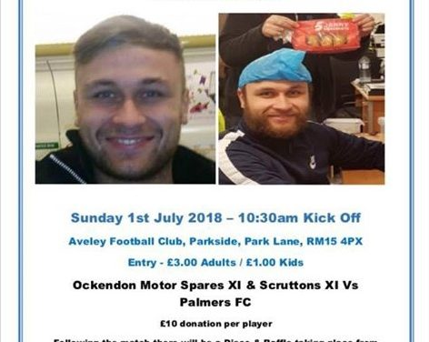 Charity football match in memory of Kevin Malthouse