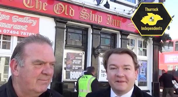Aveley landlord fined for flying a flag outside pub