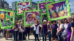 Thurrock women march in London at Suffragette celebrations