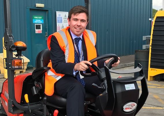 A cut above as Thurrock Council's new lawnmowers arrive