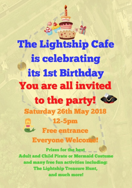 Lightship Cafe set to celebrate its first birthday