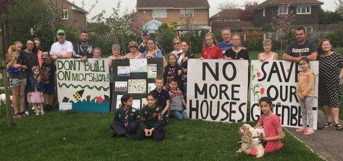 """Little Thurrock residents win planning appeal: """"Fight, if you think you are right"""""""