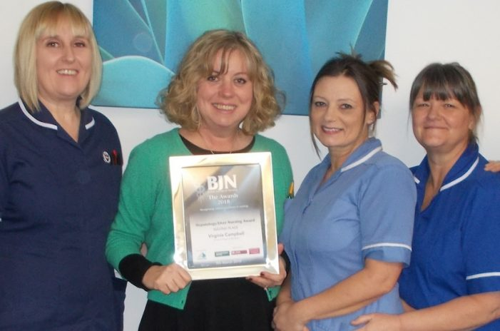 St Luke's Hospice nurse nominated for top award