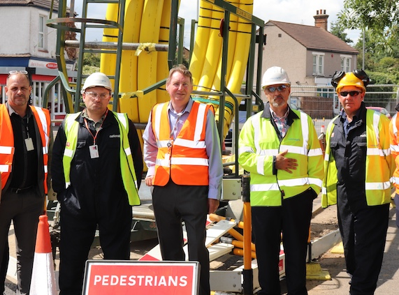 Thurrock Council explain why London Road repairs are incomplete