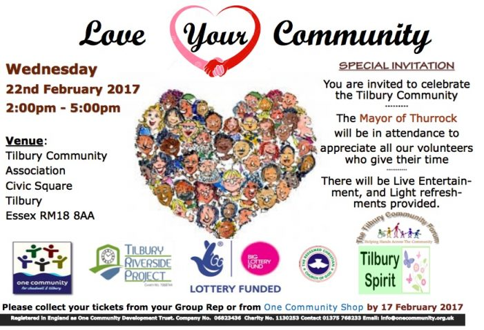 Love Your Community in Tilbury