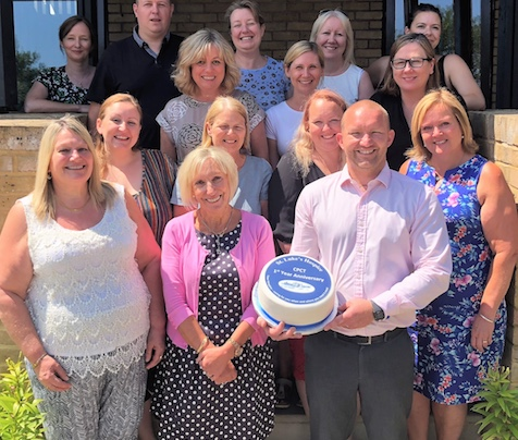 "St Luke's palliative care team look back on ""first year""."