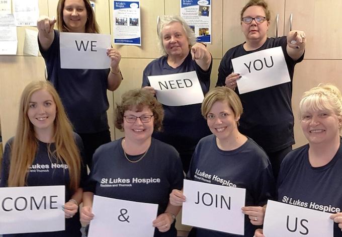 "St Luke's Hospice looking for ""fun loving "" people"