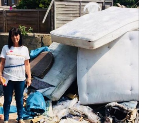 Thurrock Council set out proposals for removing fly-tipping from alleyways
