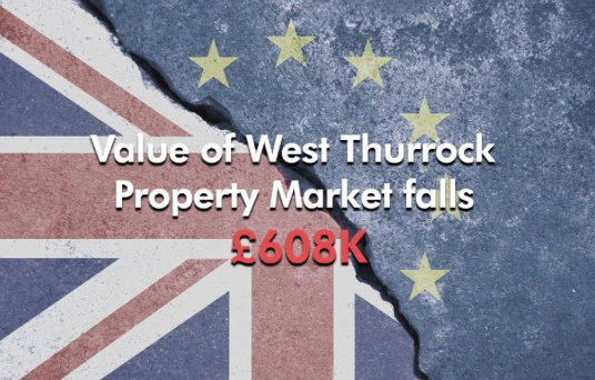 The Thurrock Property Blog: Value of West Thurrock Property Market falls £608K