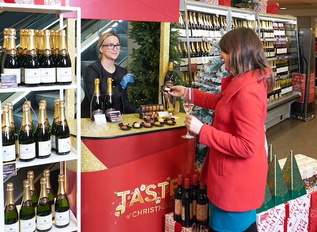 M and S is hosting a Taste of Christmas event at intu Lakeside
