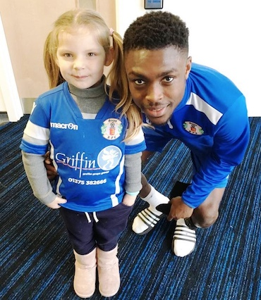 Grays Athletic's Millie is a Superfan!