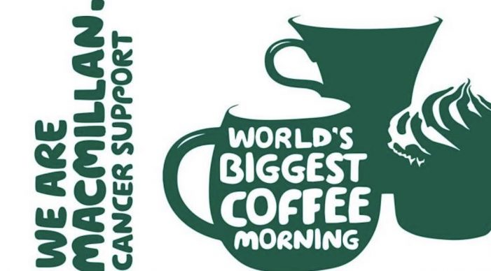 "intu Lakeside will bring community together at MacMillan ""World's Biggest Coffee Morning"""