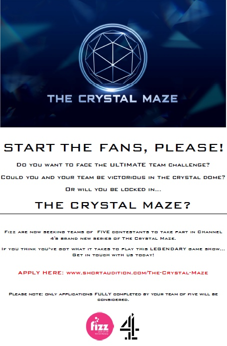 Will you enter the Crystal Maze?