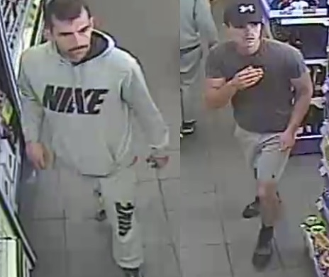 Purfleet: Men wanted after theft of oil from service station