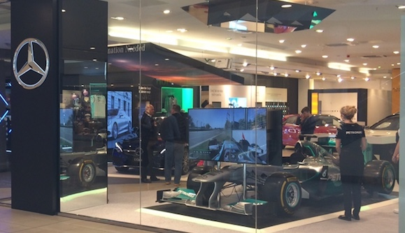 Get behind the wheel with Mercedes-Benz at intu Lakeside