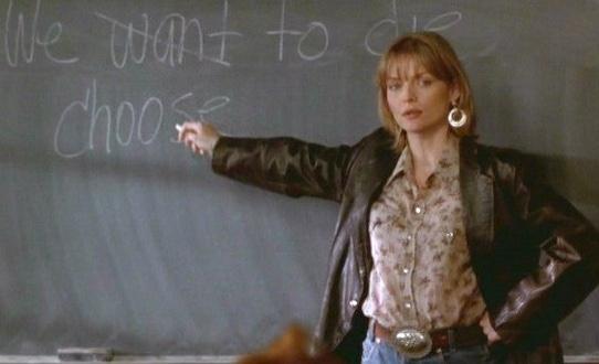 "Blogspot: The Secret Teacher"" Michelle Pfeiffer and Macbeth"