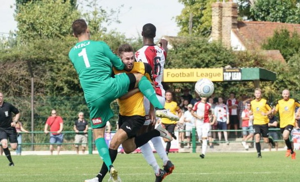 Football: East Thurrock fall to second defeat of the season
