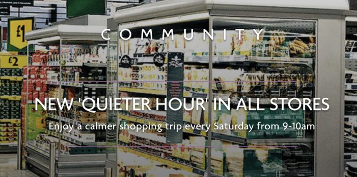 """Morrisons in Grays introduce """"Quieter Hour"""""""
