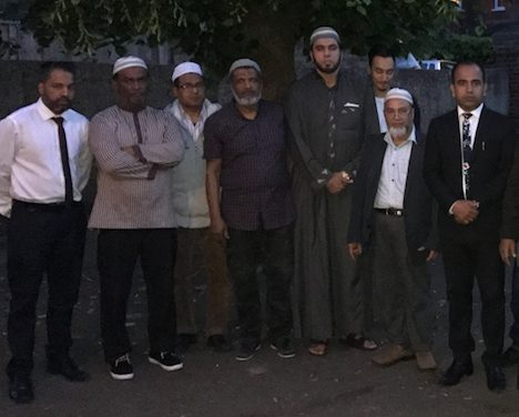 Thurrock Muslims gather to pray for victims of Manchester terror attack