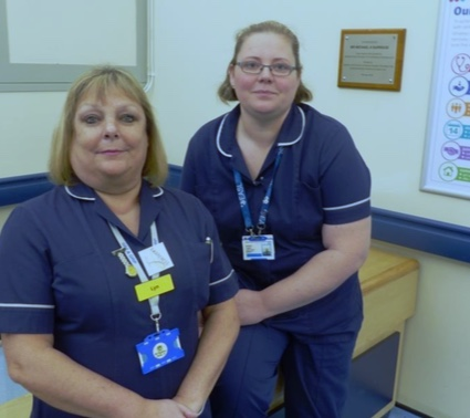 Basildon Hospital Liver nurses nominated for national award