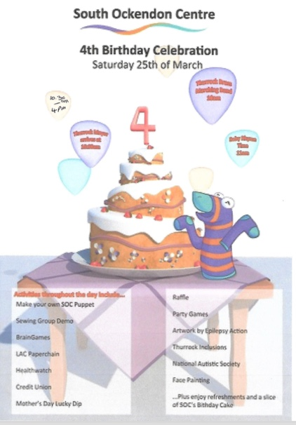 South Ockendon Centre set to celebrate 4th birthday