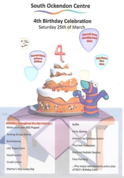 South Ockendon Centre set to celebrate 4th birthday