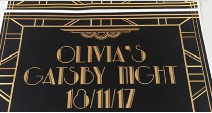 Olivia's Night: Great Gatsby theme evening at The Old Regent.