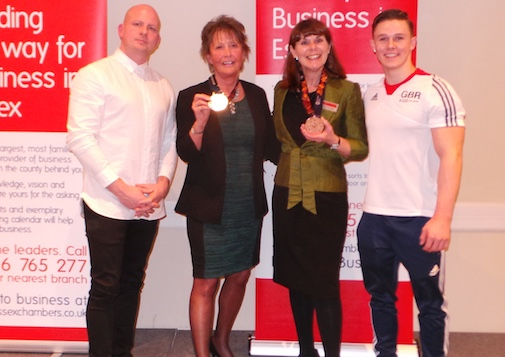 Olympians guests at dinner for Thurrock businesses