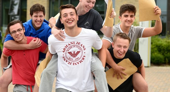 Ormiston Park Academy celebrate great A Level results
