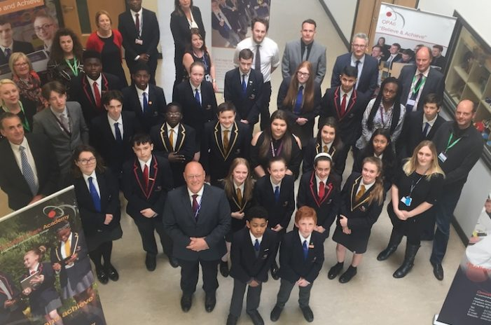 Ormiston Park Academy celebrate after high praise from Ofsted