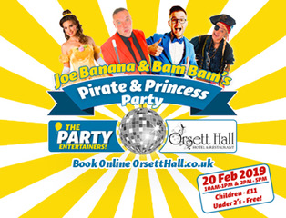 Half Term: Pirates and Princesses at Orsett Hall!
