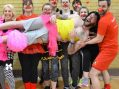 Workout for Red Nose Day at Palmer's Sports Centre