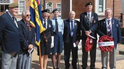 Ceremony at Grays War Memorial to mark Passchendaele