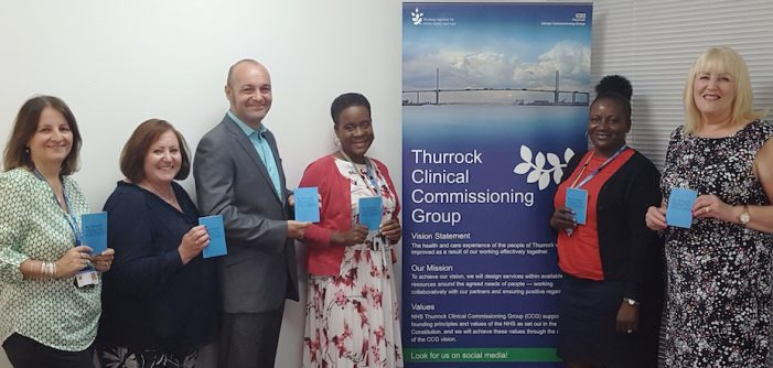 Childen in care council celebrate passport to health