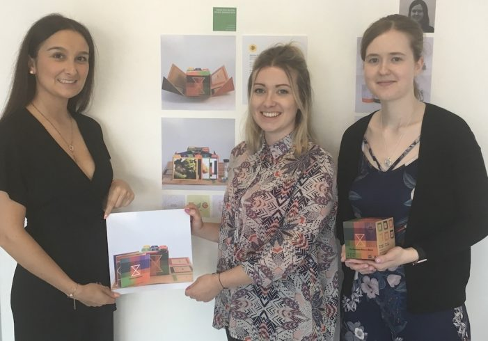 Prestigious Pencil accolade for Graphic Design students