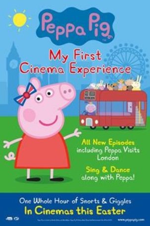 Peppa Pig is coming to Vue Thurrock