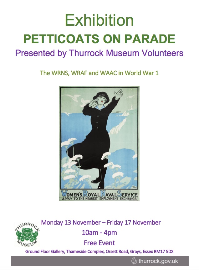 Petticoats on Parade at Thameside Museum