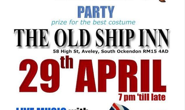This week at the Old Ship Inn Aveley