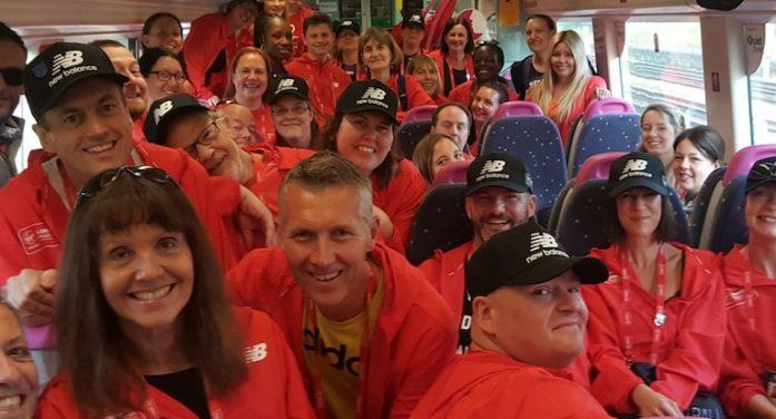 C2C go extra mile for London Marathon volunteers