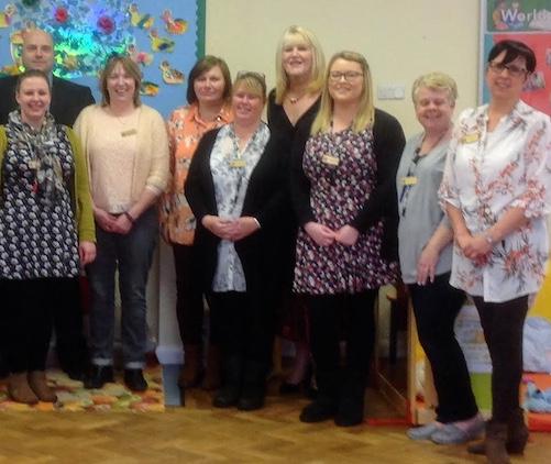 Celebrations at re-birth of Horndon village nursery