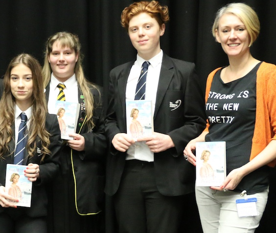 Gateway Academy students meet local author on World Book Day