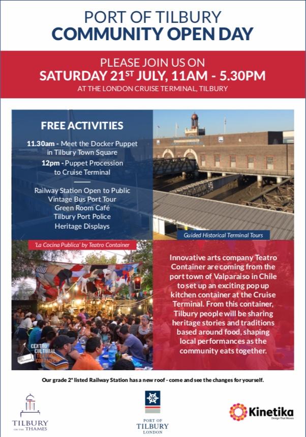 Port of Tilbury Community Open Day