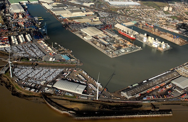 P and O Ferries plan £150 million berth at Port of Tilbury