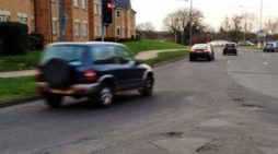 Thurrock Council pothole spotter nominated for award